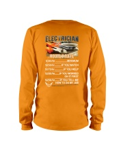 Electrician Hourly Rate Shirt and Hoodie  Long Sleeve Tee thumbnail
