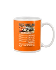 Electrician Hourly Rate Shirt and Hoodie  Mug thumbnail