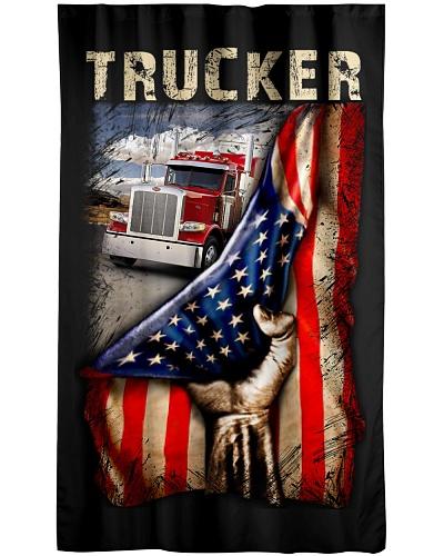 Trucker  USA Flag