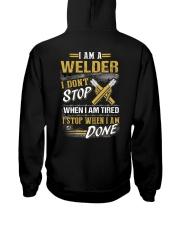 Welder-I don't stop when I am tired Hooded Sweatshirt thumbnail
