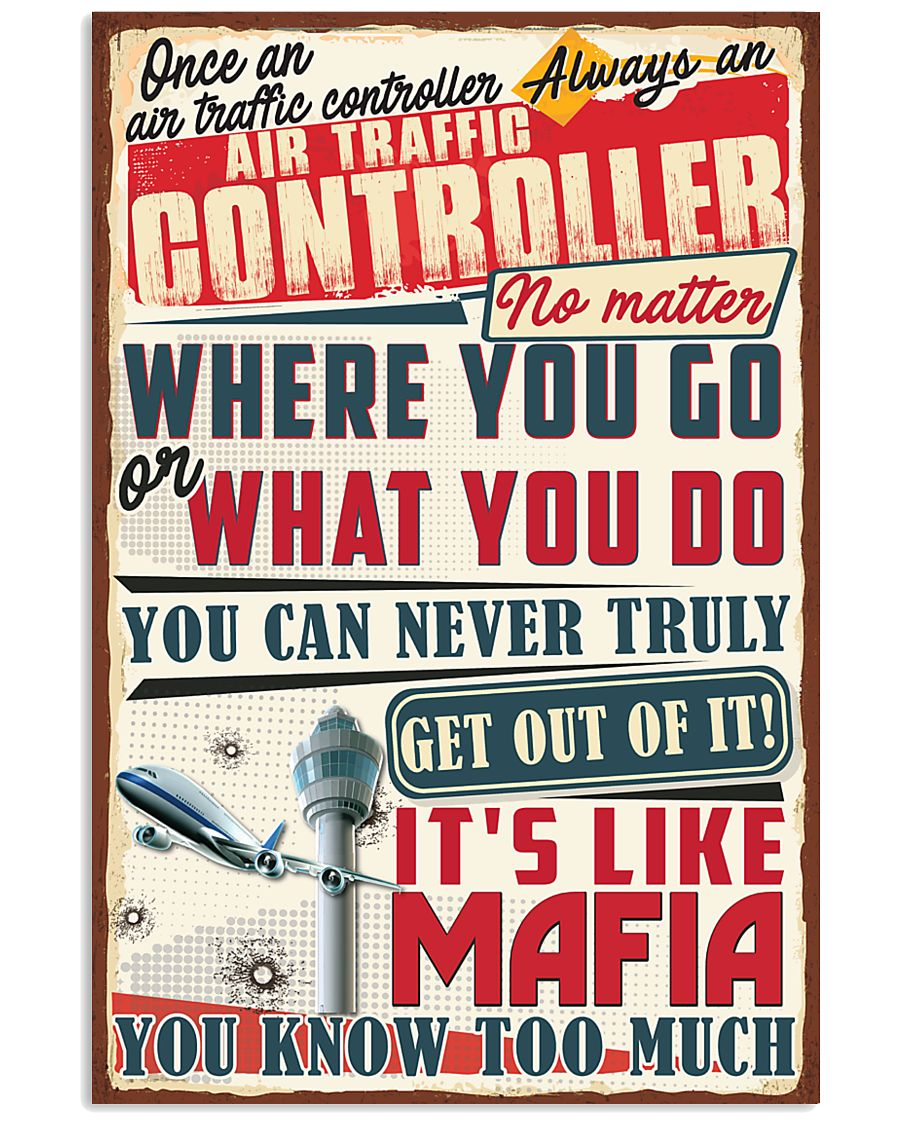 Truly Air Traffic Controller 11x17 Poster