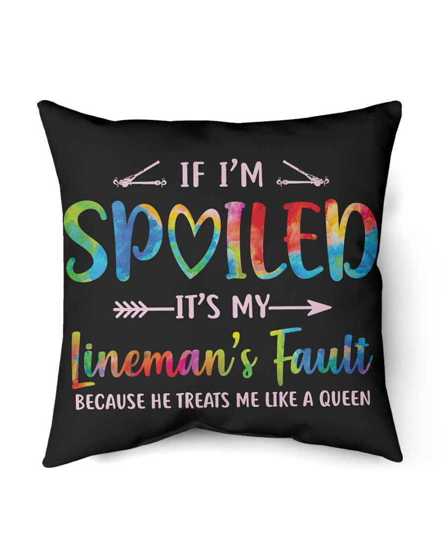 "Lineman's Fault Indoor Pillow - 16"" x 16"""
