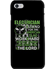 Proud Electrician Hoodie Phone Case thumbnail