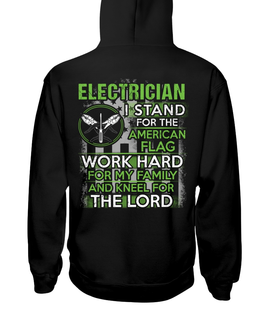 Proud Electrician Hoodie Hooded Sweatshirt