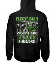 Proud Electrician Hoodie Hooded Sweatshirt back