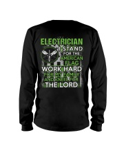Proud Electrician Hoodie Long Sleeve Tee thumbnail