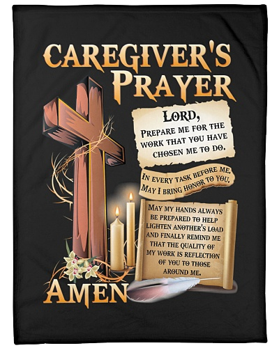 Caregiver's Prayer