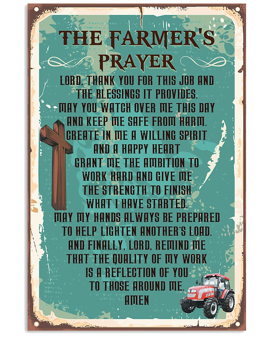 Proud Farmer's  11x17 Poster