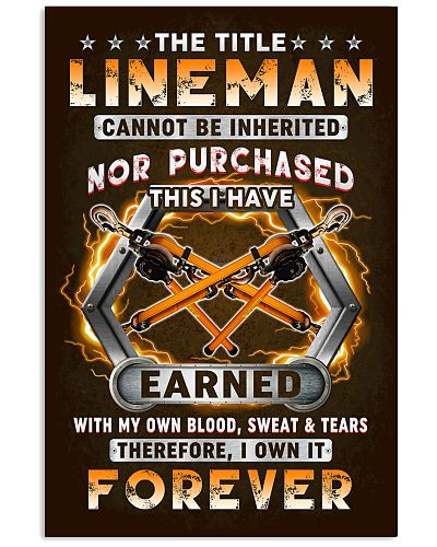 The Title Lineman Own it Forever