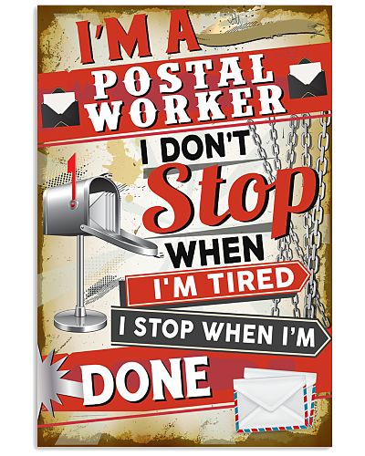 Awesome Postal Worker