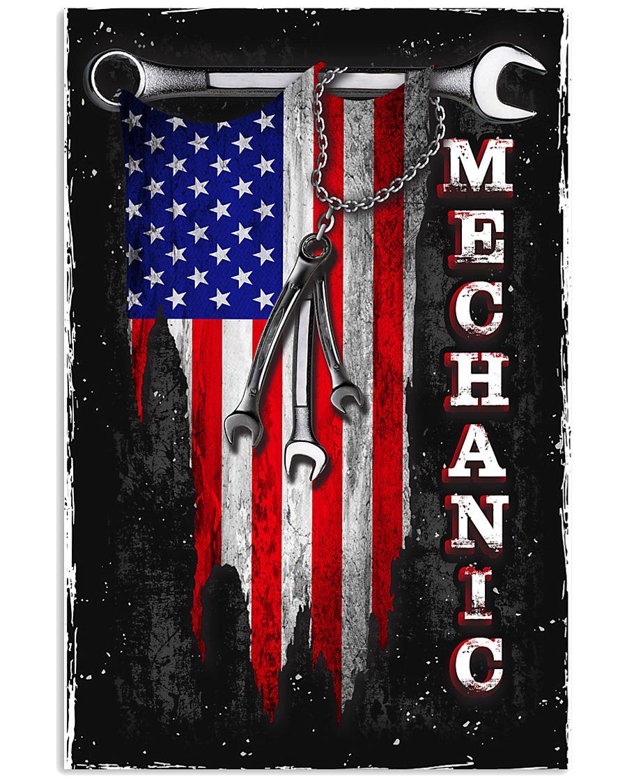 Proud Mechanic 11x17 Poster