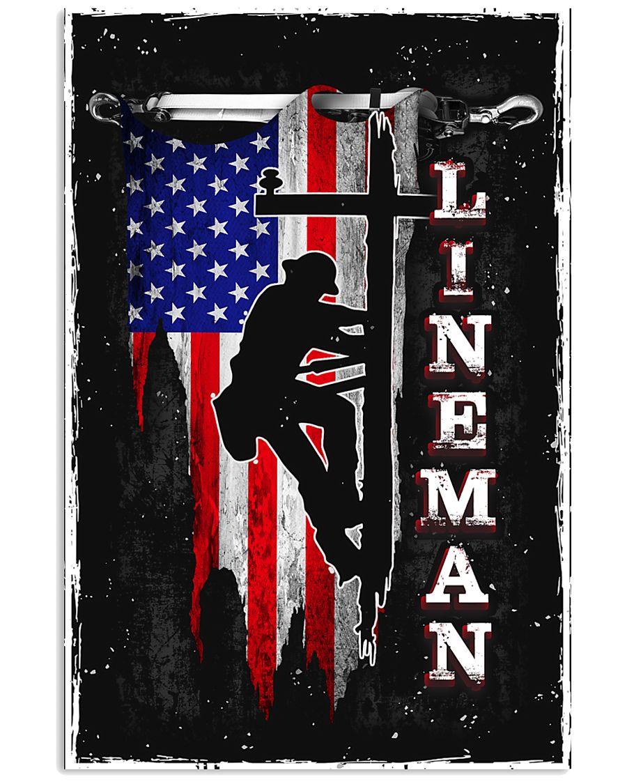 Proud Lineman 11x17 Poster