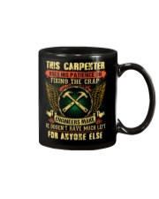 Awesome Carpenter Shirt Mug tile