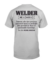 Welder  Christmas Special Classic T-Shirt tile
