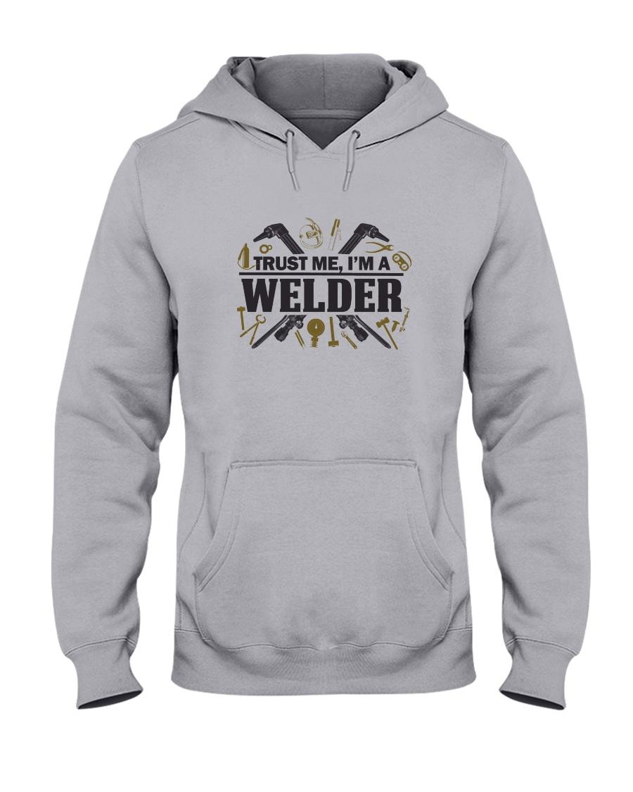 Welder  Christmas Special Hooded Sweatshirt