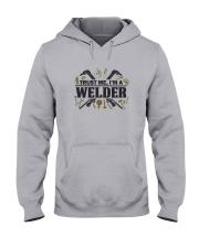 Welder  Christmas Special Hooded Sweatshirt front