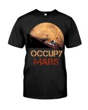 Occupy Mars Spacex Starman Classic T-Shirt front