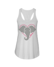 Ellen Degeneres Elephant Shirt Ladies Flowy Tank thumbnail