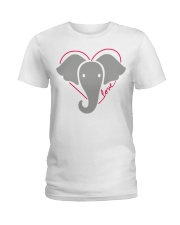 Ellen Degeneres Elephant Shirt Ladies T-Shirt tile