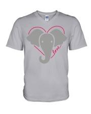 Ellen Degeneres Elephant Shirt V-Neck T-Shirt thumbnail