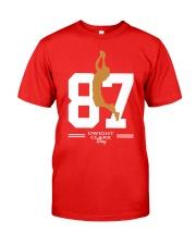 Dwight Clark Day 87 T-Shirt Classic T-Shirt front