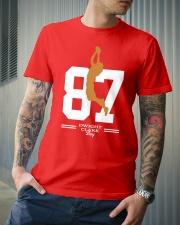 Dwight Clark Day 87 T-Shirt Classic T-Shirt lifestyle-mens-crewneck-front-6
