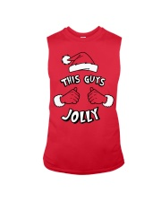 This Guy's Jolly Christmas Sweatshirt Sleeveless Tee thumbnail