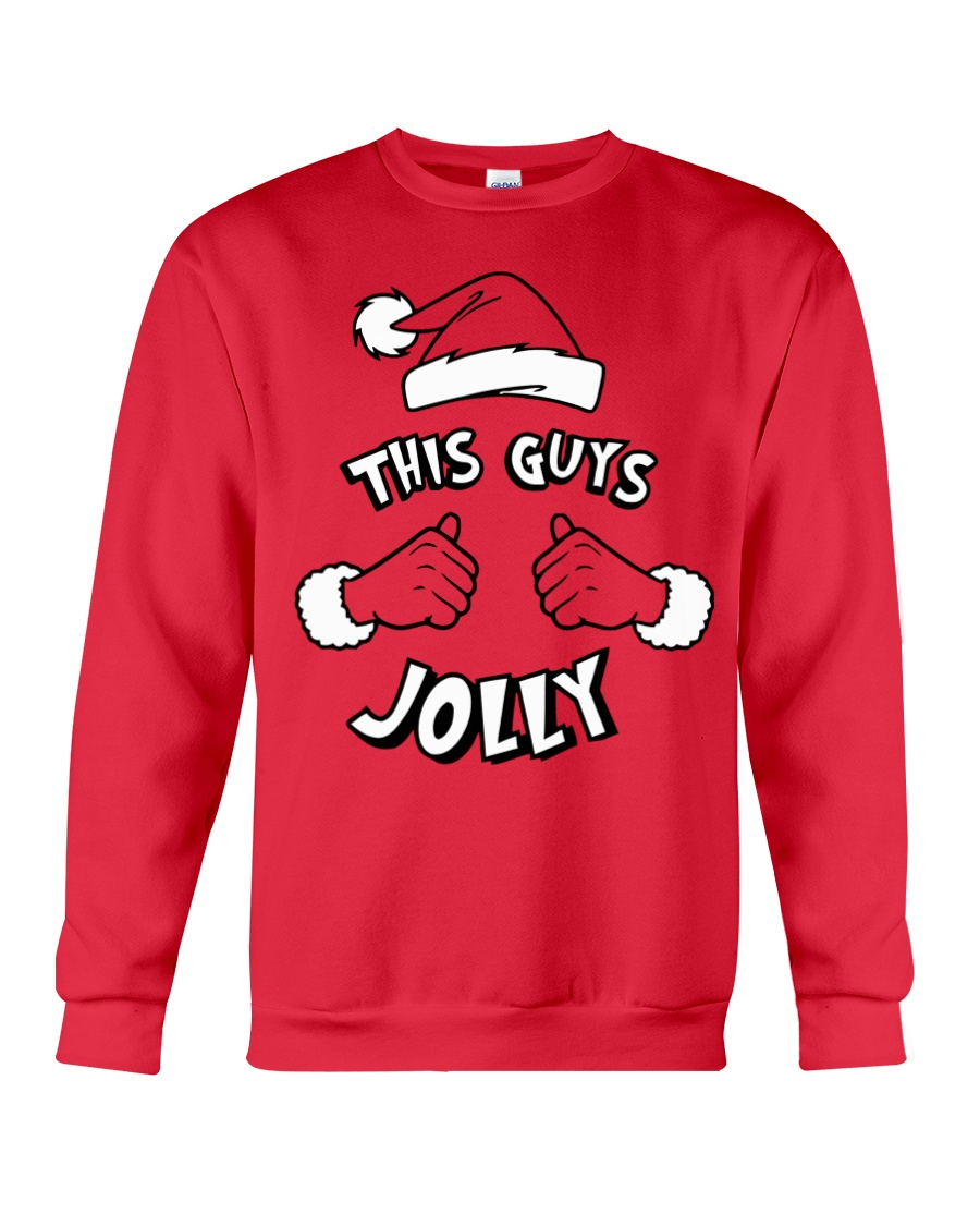 This Guy's Jolly Christmas Sweatshirt Crewneck Sweatshirt