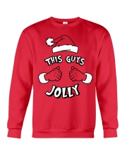 This Guy's Jolly Christmas Sweatshirt Crewneck Sweatshirt front