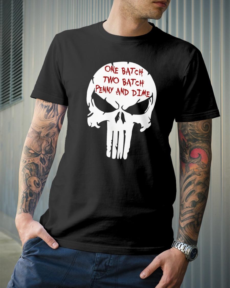 T-shirt One Batch Two Batch Men/'s Black