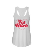 Fat Bitch T-Shirt Ladies Flowy Tank thumbnail