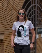 Crystal Gayle T Shirt Ladies T-Shirt lifestyle-women-crewneck-front-2