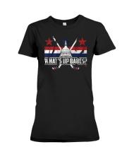 What's Up Babes T-Shirt Premium Fit Ladies Tee thumbnail