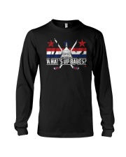 What's Up Babes T-Shirt Long Sleeve Tee thumbnail