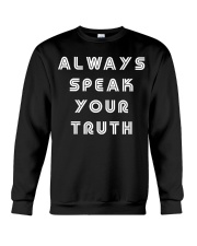 Aly Raisman Always Speak Your Truth Shirt Crewneck Sweatshirt thumbnail