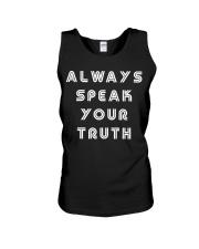 Aly Raisman Always Speak Your Truth Shirt Unisex Tank thumbnail