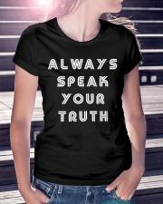 Aly Raisman Always Speak Your Truth Shirt Ladies T-Shirt lifestyle-women-crewneck-front-7