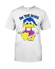 I'm The Boss T-Shirt Duck Shane Dawson Classic T-Shirt front