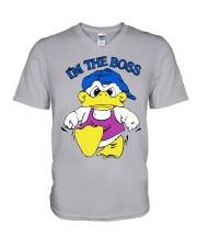 I'm The Boss T-Shirt Duck Shane Dawson V-Neck T-Shirt thumbnail