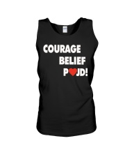 Courage Belief Pojd Shirt Petra Kvitova Unisex Tank thumbnail