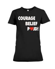 Courage Belief Pojd Shirt Petra Kvitova Premium Fit Ladies Tee thumbnail