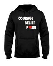 Courage Belief Pojd Shirt Petra Kvitova Hooded Sweatshirt thumbnail