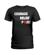Courage Belief Pojd Shirt Petra Kvitova Ladies T-Shirt thumbnail