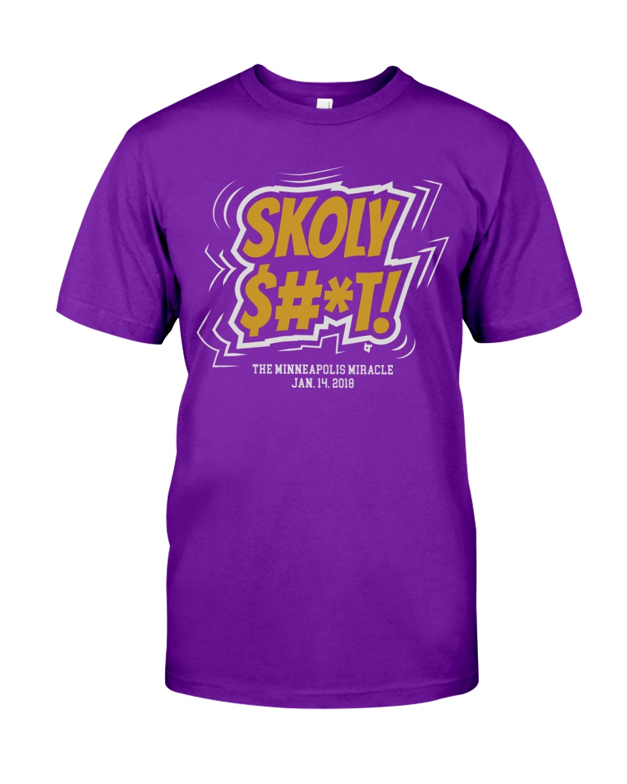 Skoly Shit Shirt Classic T-Shirt
