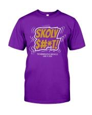 Skoly Shit Shirt Classic T-Shirt front