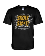 Skoly Shit Shirt V-Neck T-Shirt thumbnail