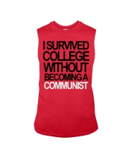 I Survived College Without Communist Shirt Sleeveless Tee thumbnail