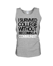 I Survived College Without Communist Shirt Unisex Tank thumbnail