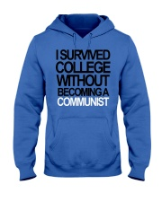 I Survived College Without Communist Shirt Hooded Sweatshirt thumbnail