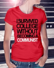 I Survived College Without Communist Shirt Ladies T-Shirt lifestyle-women-crewneck-front-7